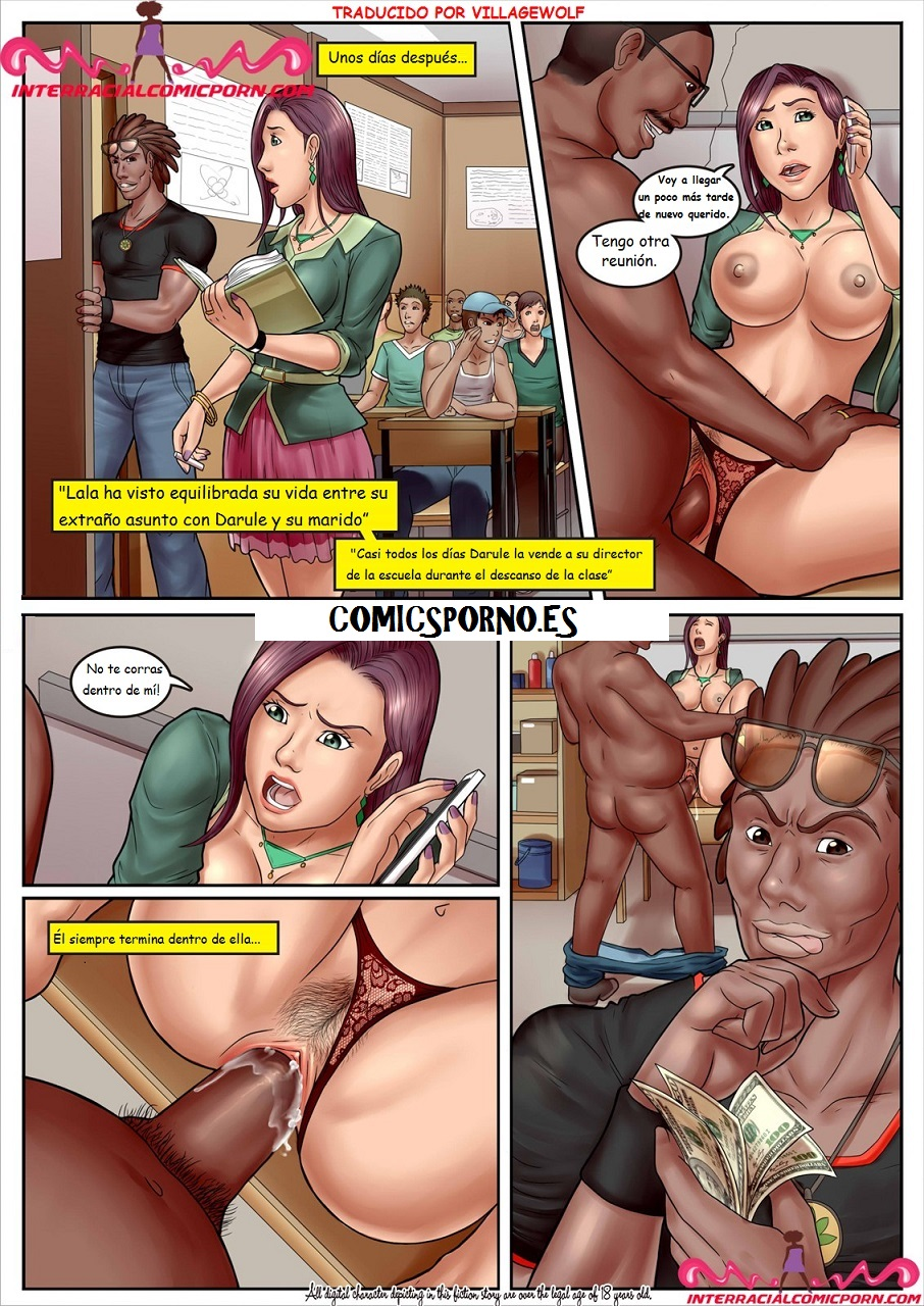 Slut Teacher 4 comic