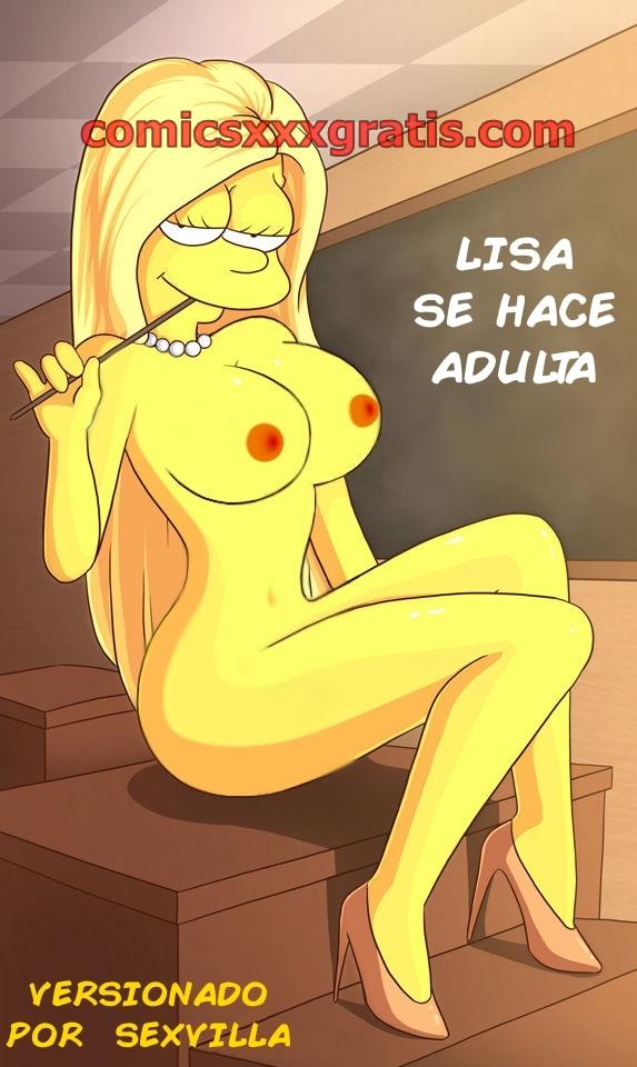 Lisa se hace adulta Simpsons XXX