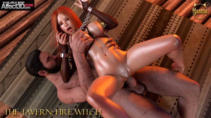 The tavern fire witch