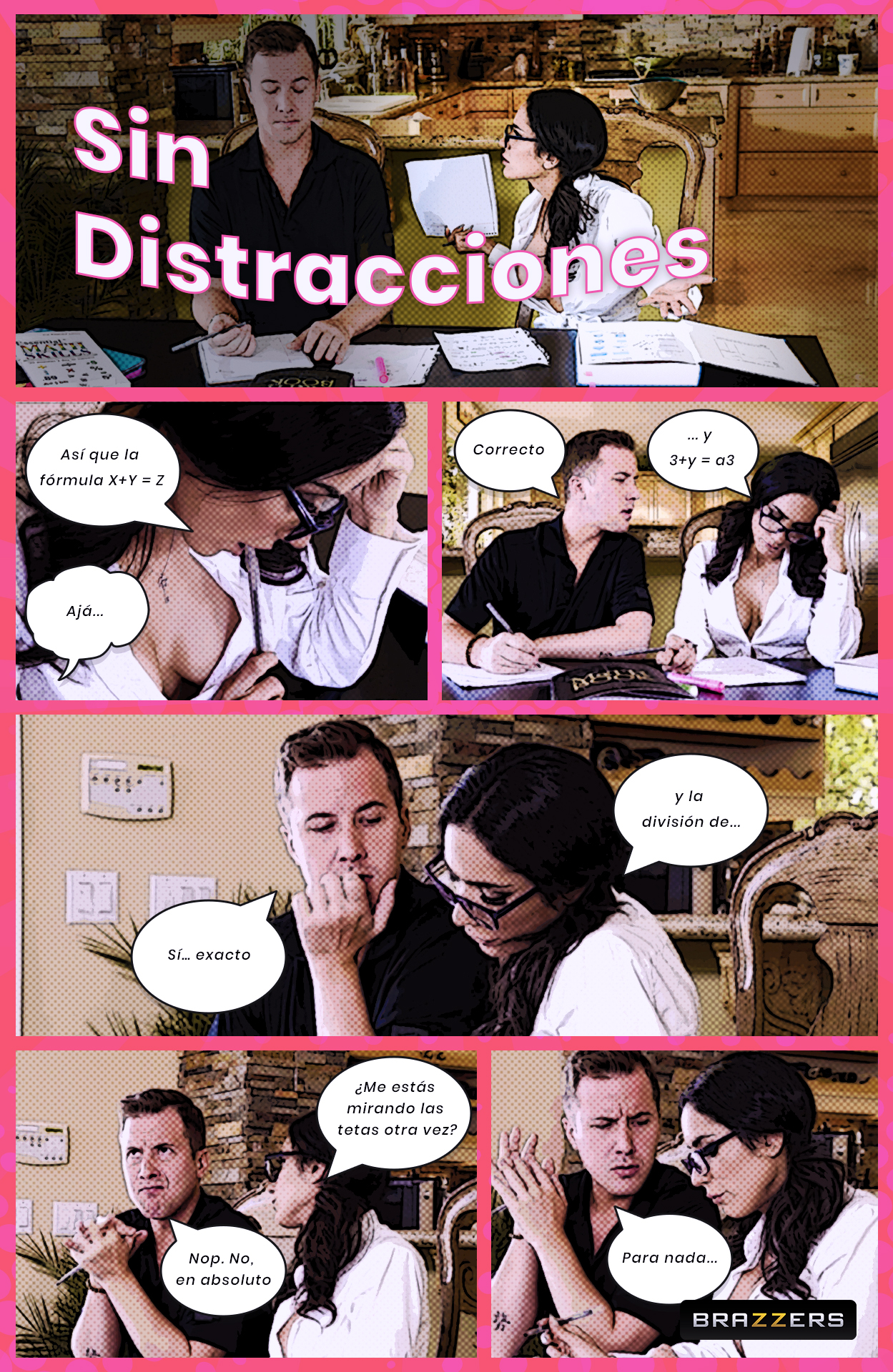 Sin distracciones [Brazzers] [Tia Cyrus] XXX