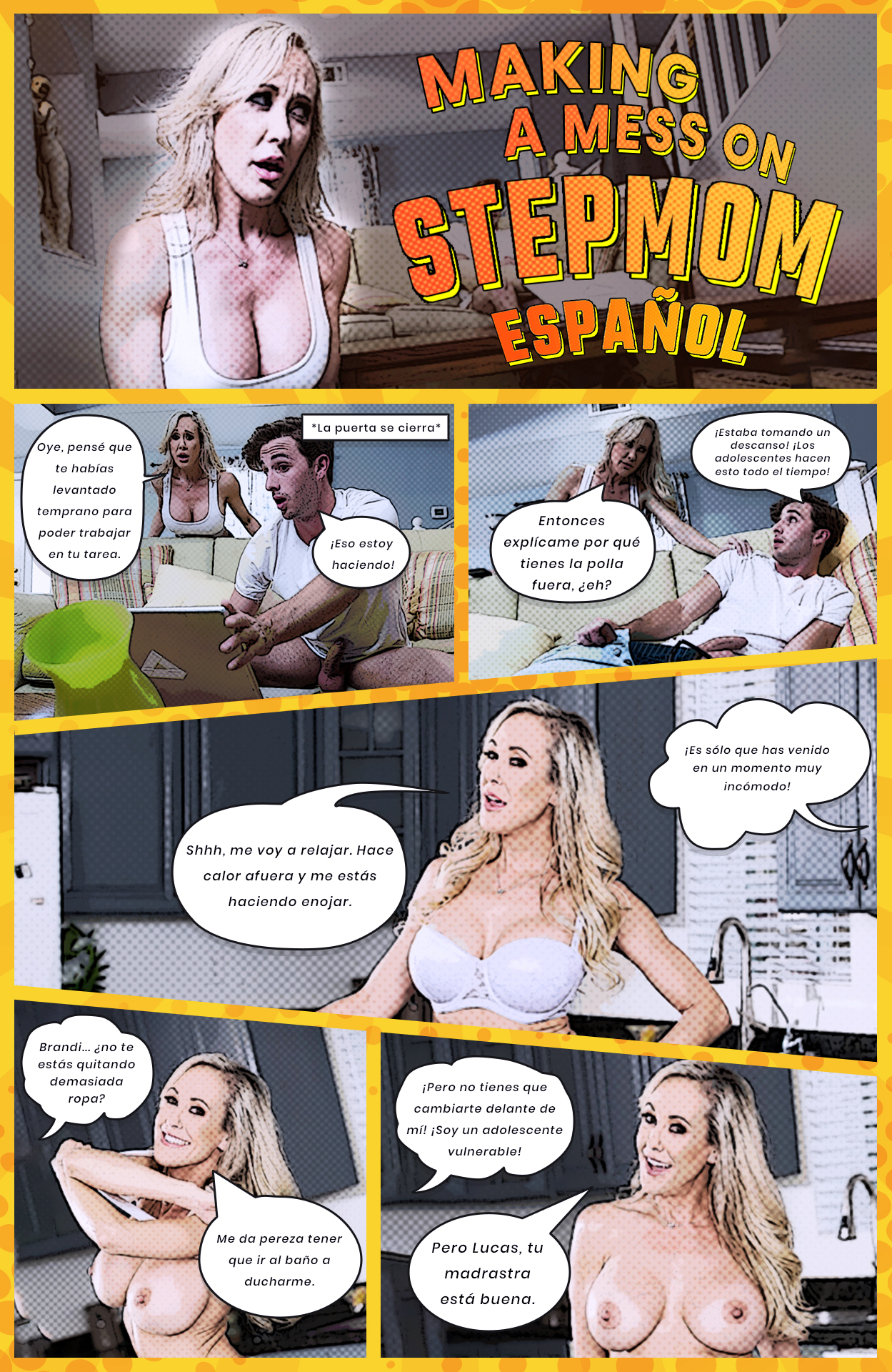 Making a Mess on Stepmom Español [Brazzers] [Brandi Love]