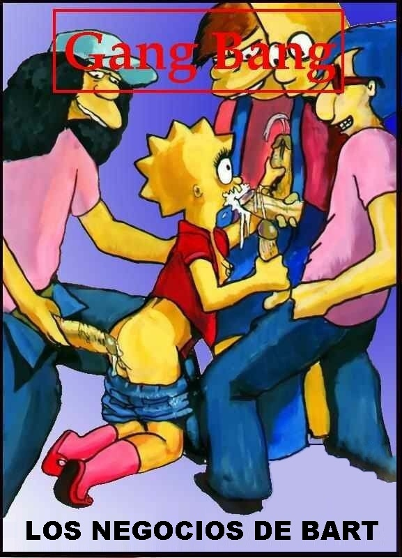 Los negocios de Bart- Los Simpsons (Español)