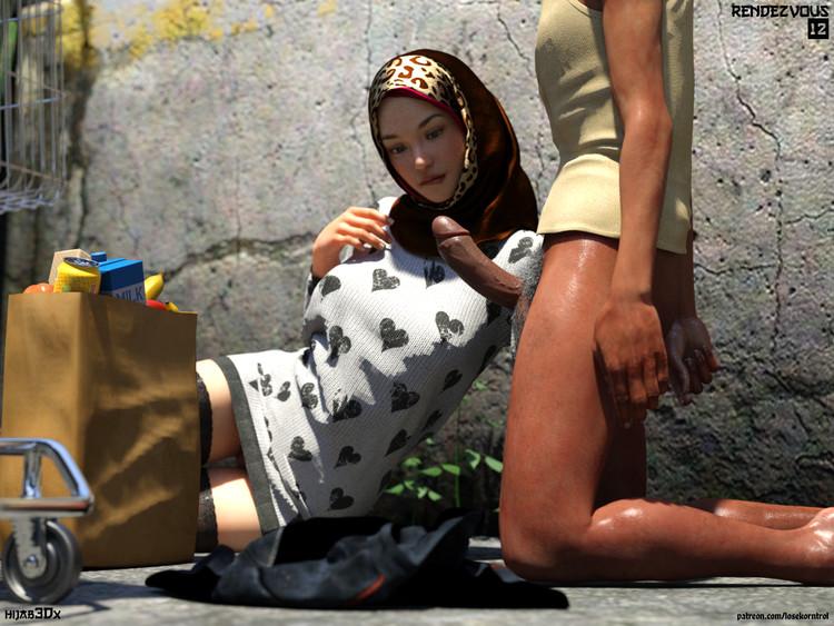 RendezVous- Hijab xxx 3DX