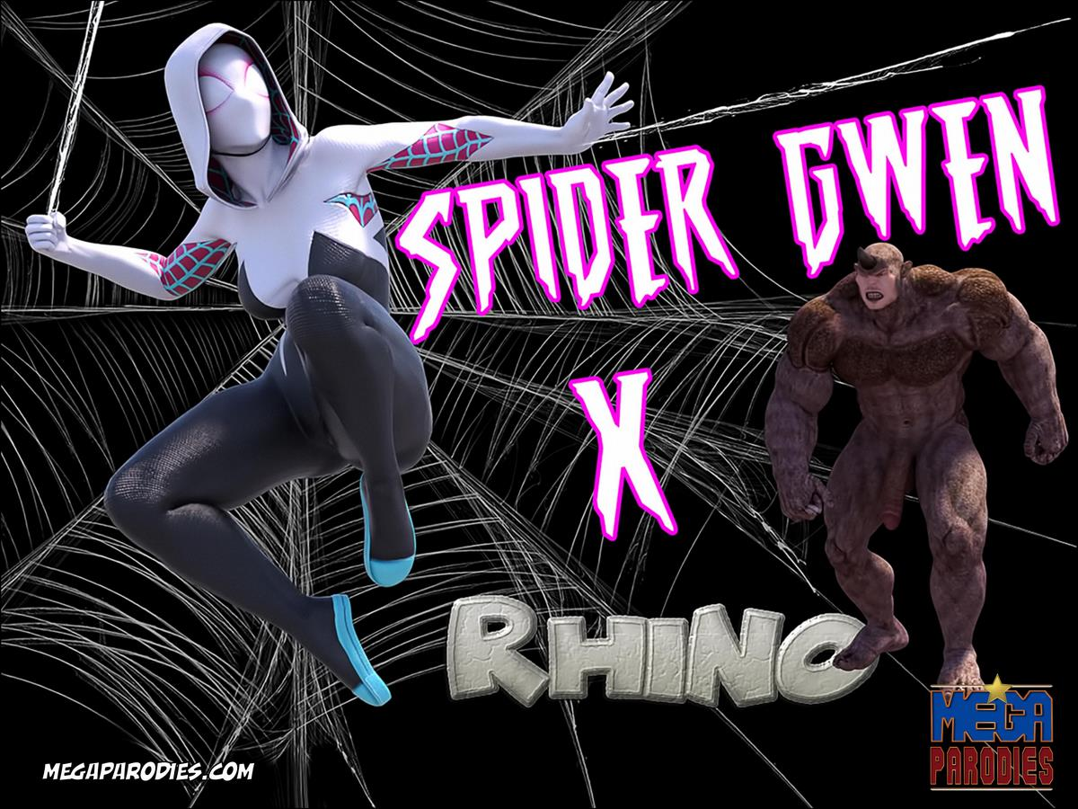 Spider Gwen X Rhino- Megaparodies