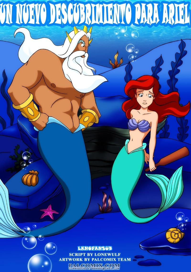 Un nuevo descubrimiento Para Ariel (Español) (PalComix)