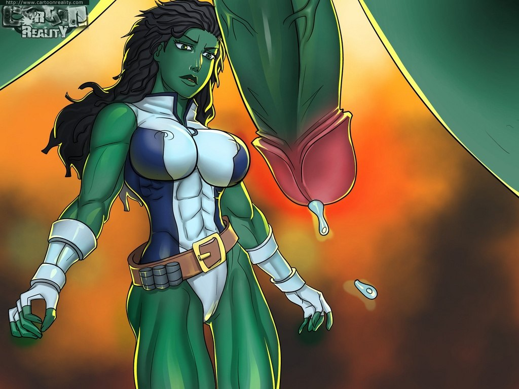 The Incredible Hulk Vs. She-Hulk comics porno (cartoon reality)