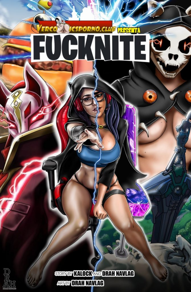 comics porno de fortnite