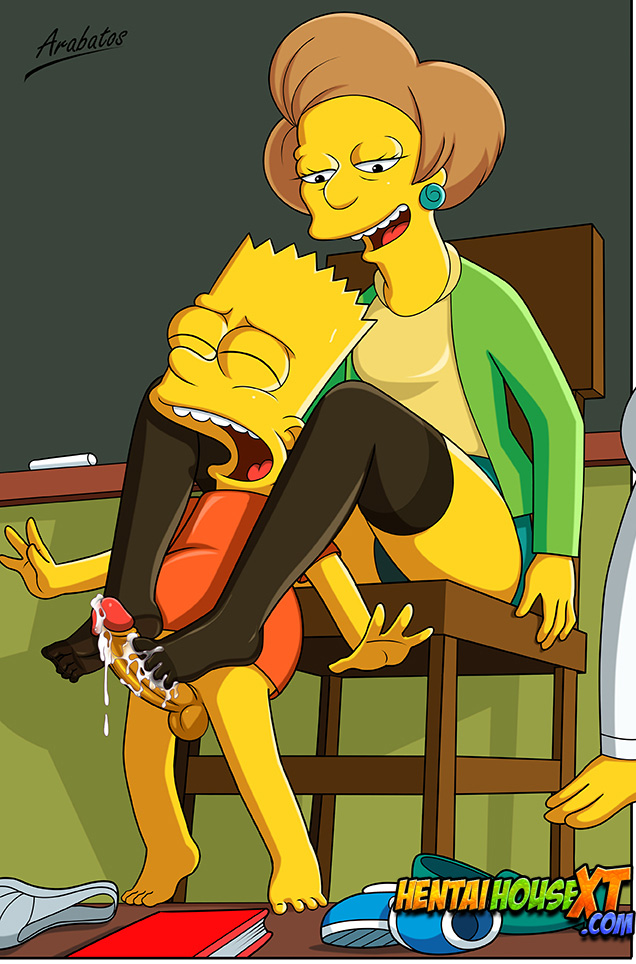 profesora simpsons xxx