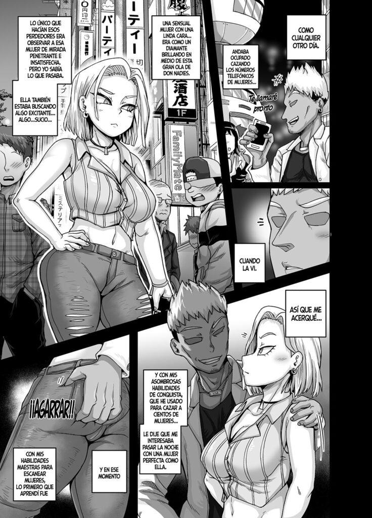 comics xxx de androide 18