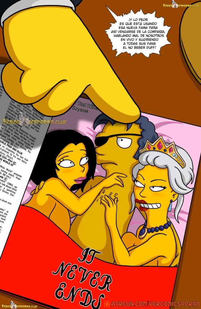 the simpsons comics porn
