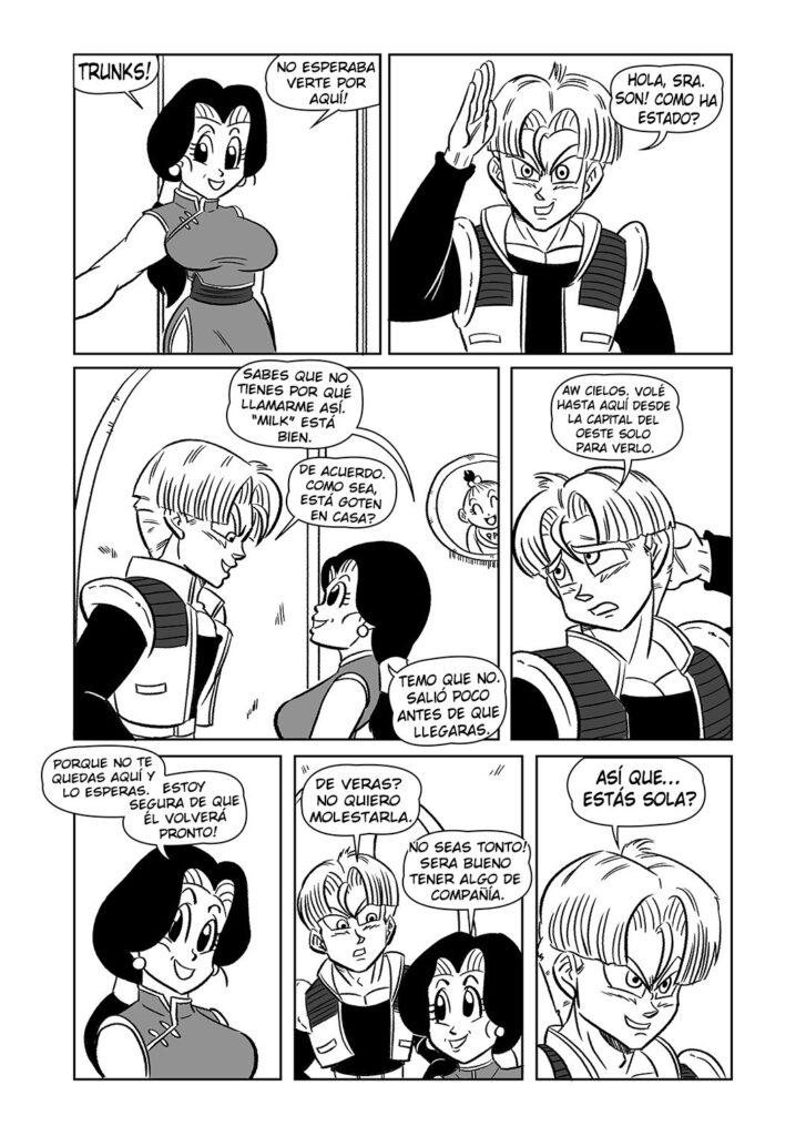 Historieta dragopn ball