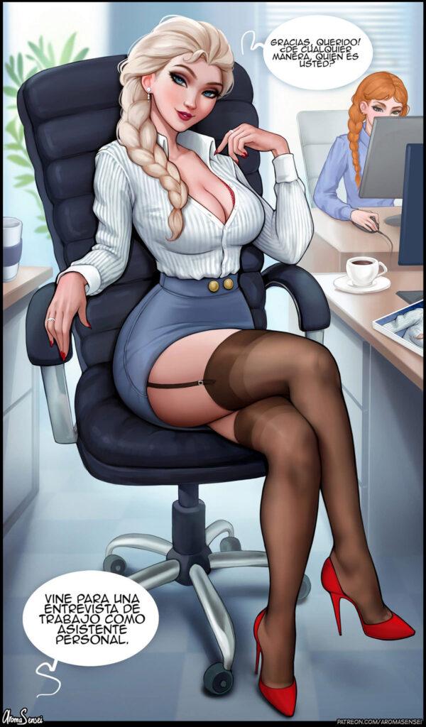 elsa comics porno
