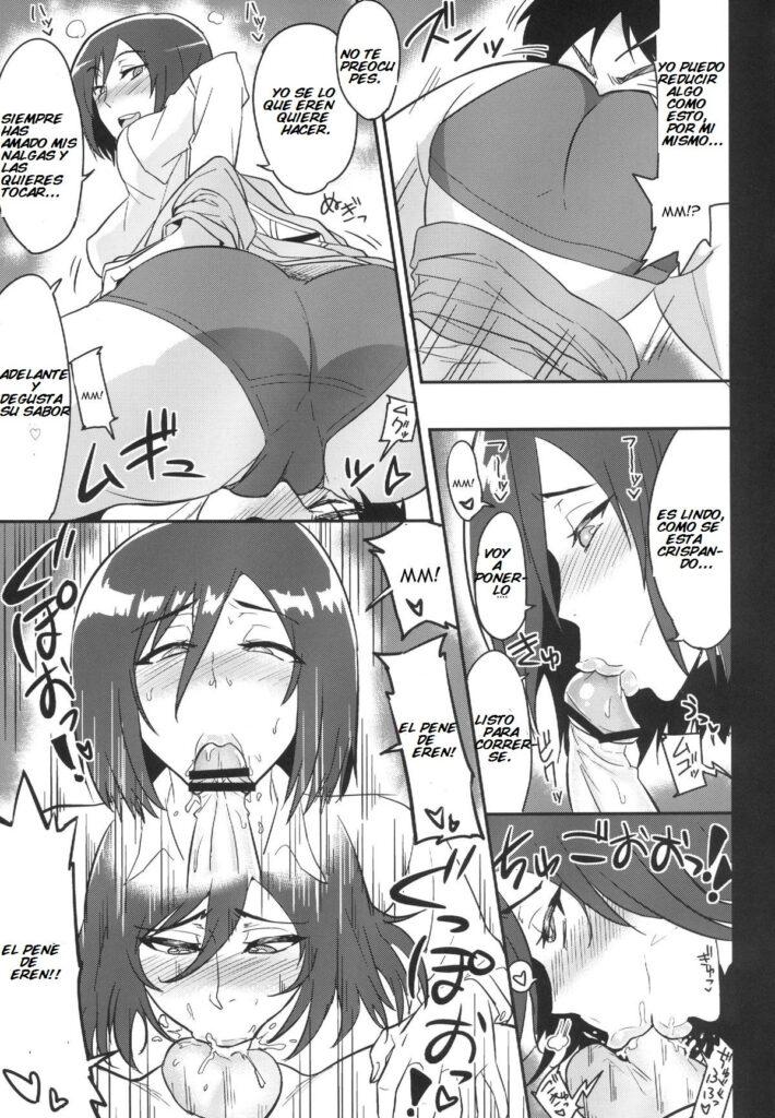 comics porno de mikasa